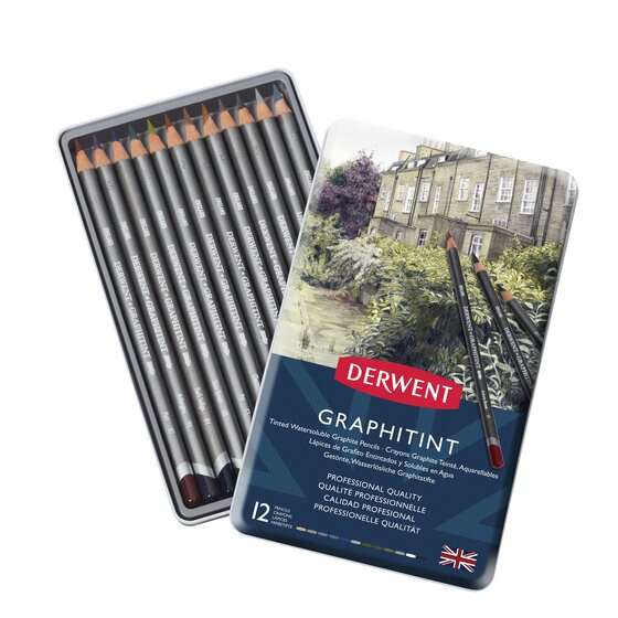 Derwent Graphitint Pencils Set 12