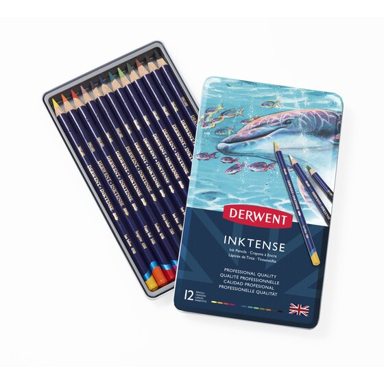 Derwent Inktense Pencils Set 12