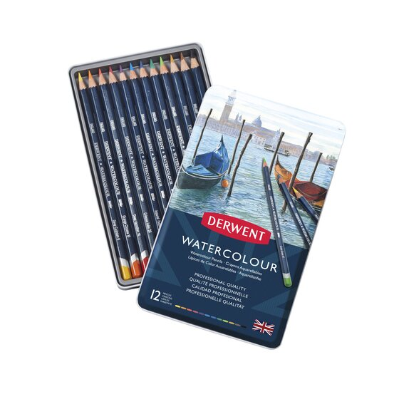 Derwent Watercolour Pencils Set 12