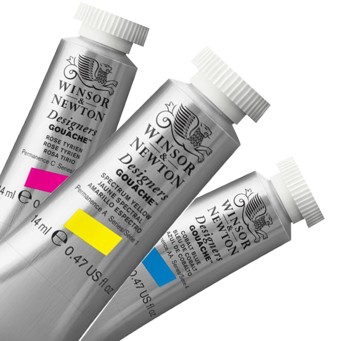 Winsor and Newton Gouache Paint Tubes