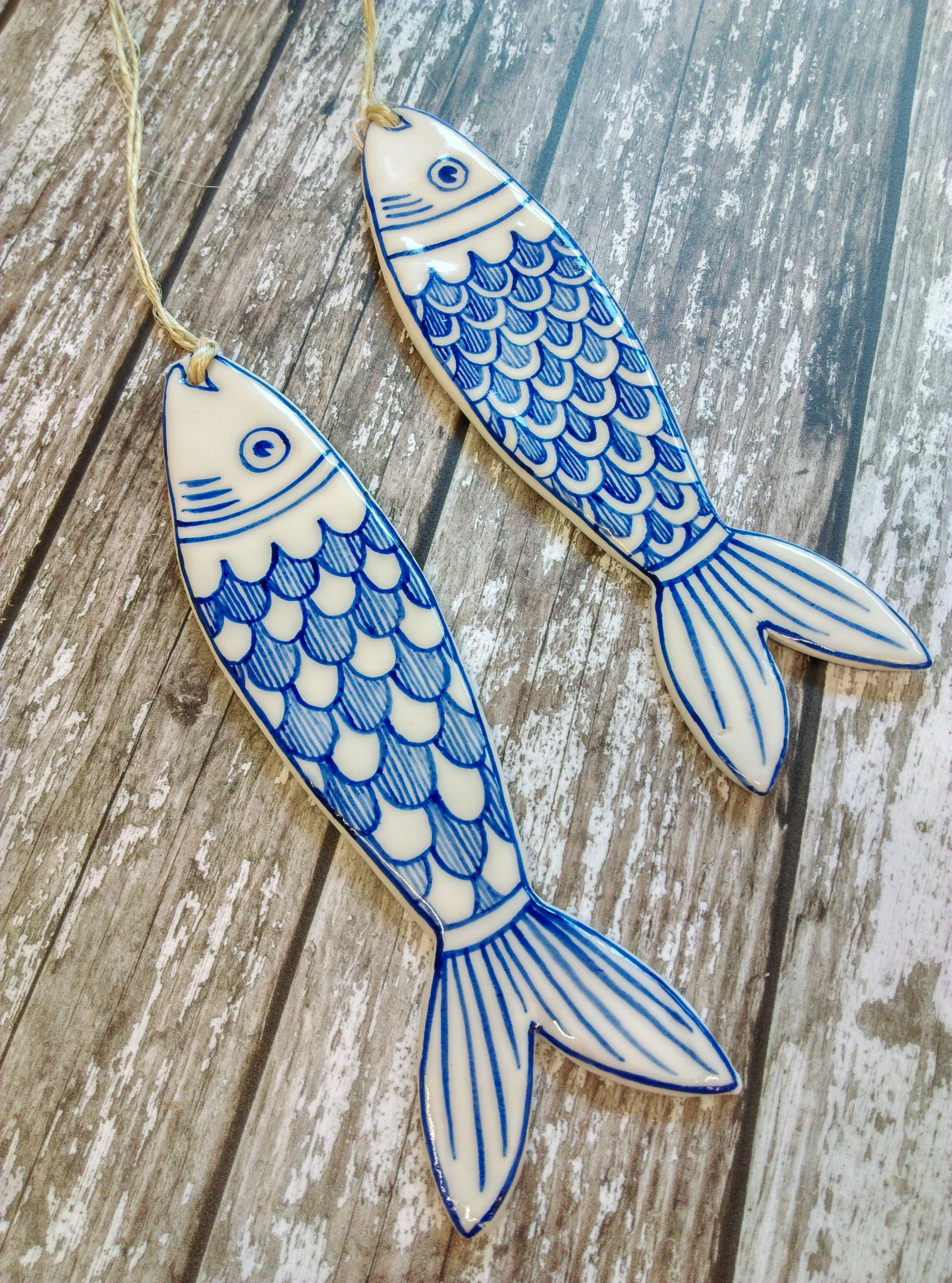 Fish Hanging Decoration by Pretender to the Throne